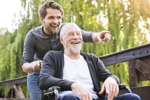 son-with-elderly-father